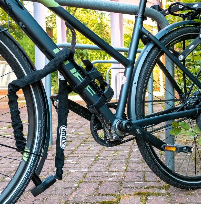 Fahrradschloss öffnen